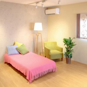 寝室リビングゾーン